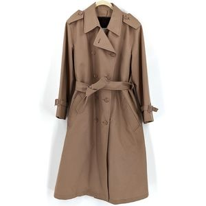 London Fog Removable Fleece Lined Trench Coat 14P
